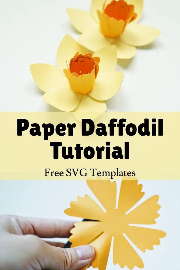 paper daffodil