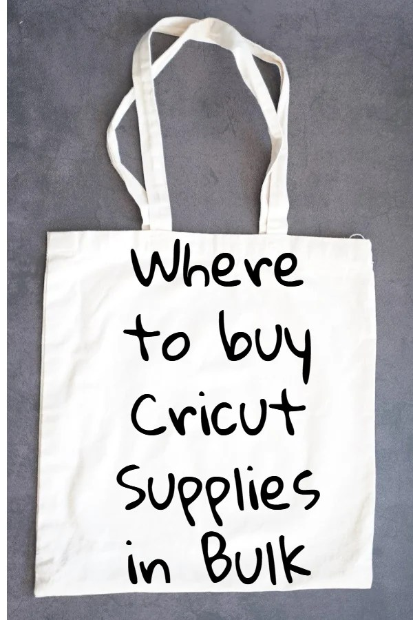 bulk cricut supplies