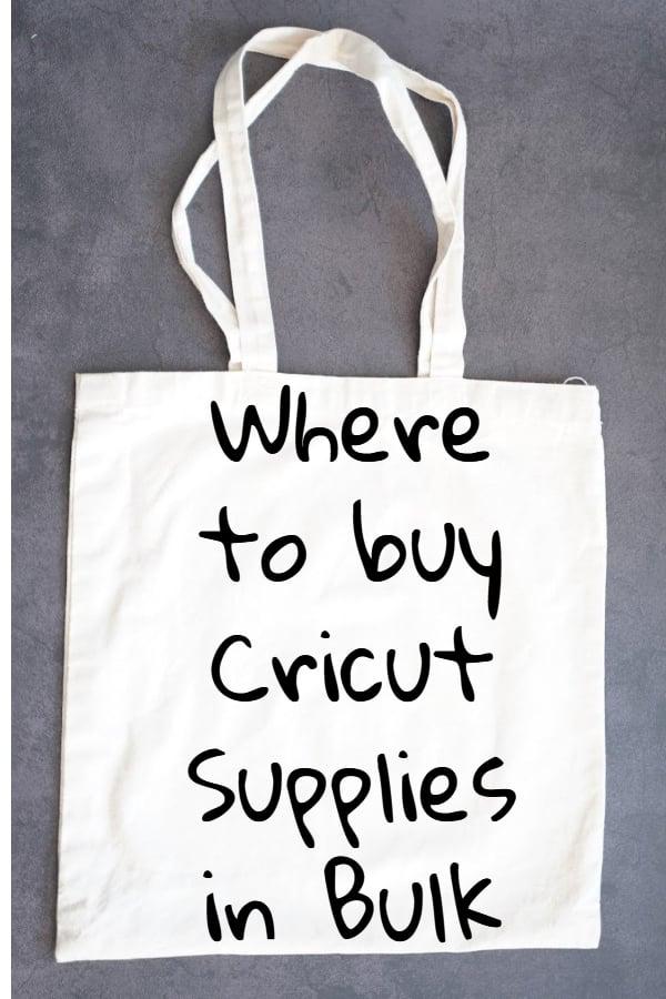 bulk cricut supplies