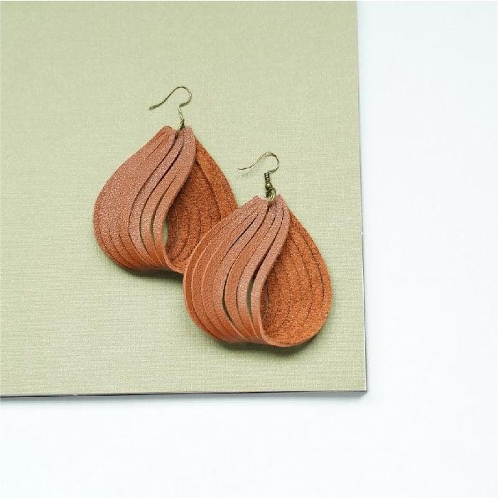 Blended loop earrings