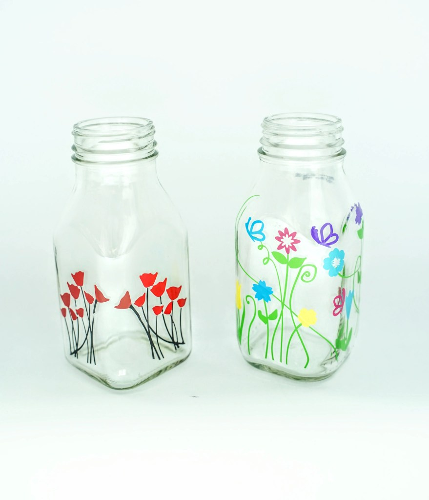 Glass Bottle Decor Ideas Domestic Heights