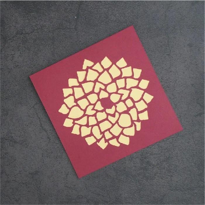 Dahlia card