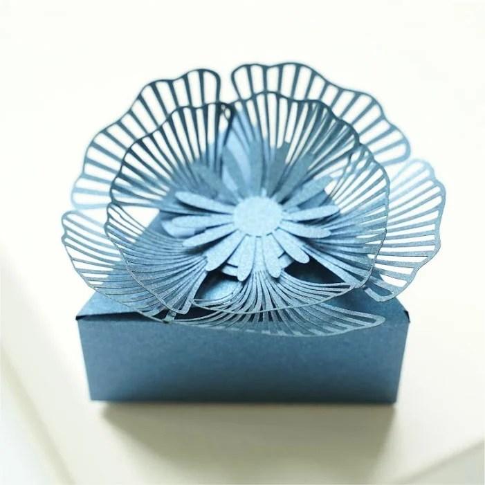 Flower favors box