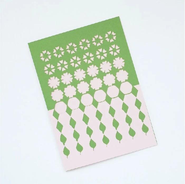 Tessellation card