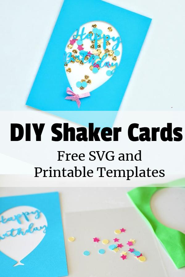 diy shaker cards