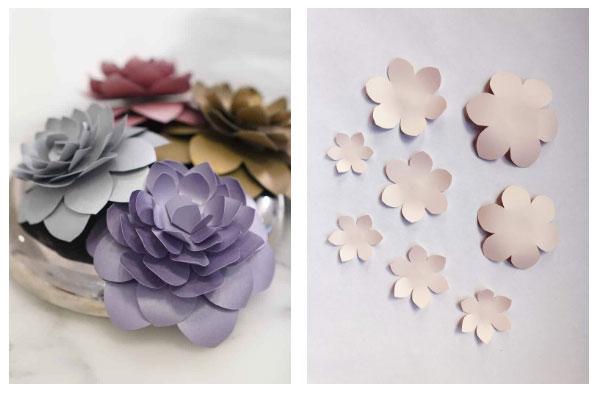 medium paper flower template