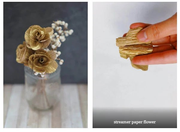 crepe paper flower templates