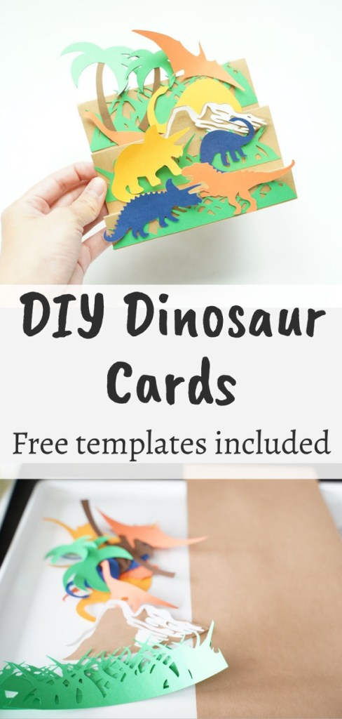 Easy Cricut paper card project