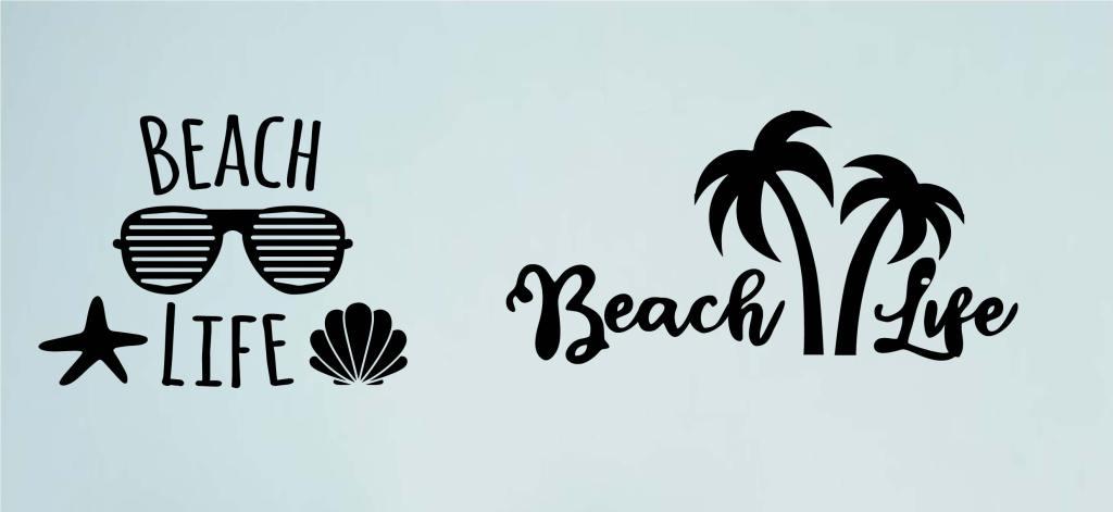 free beach life svg
