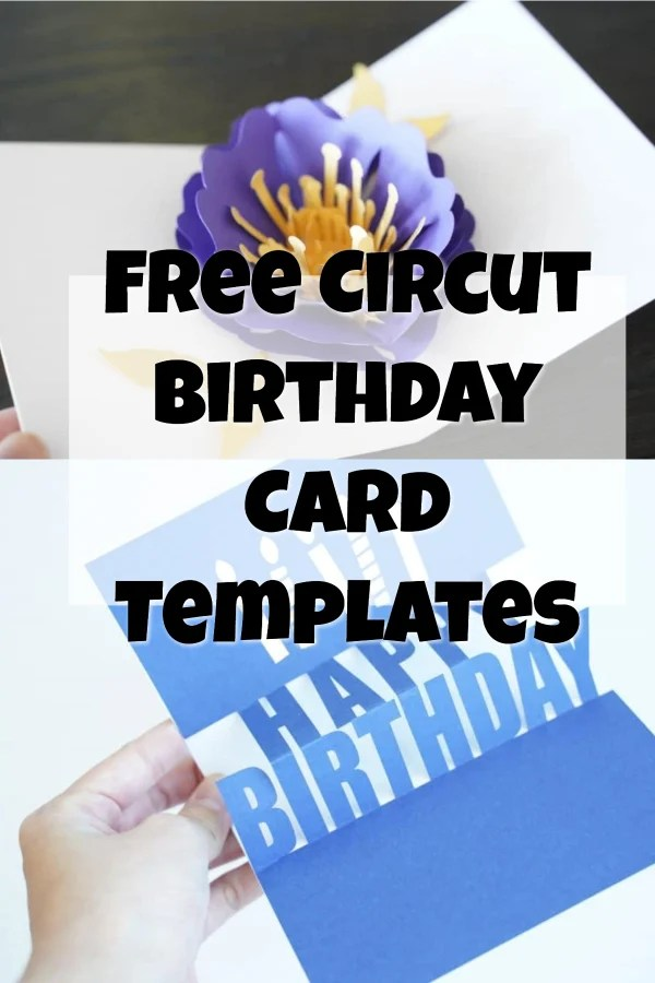 cricut birthday cards
