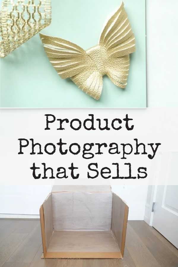 how to photograph products