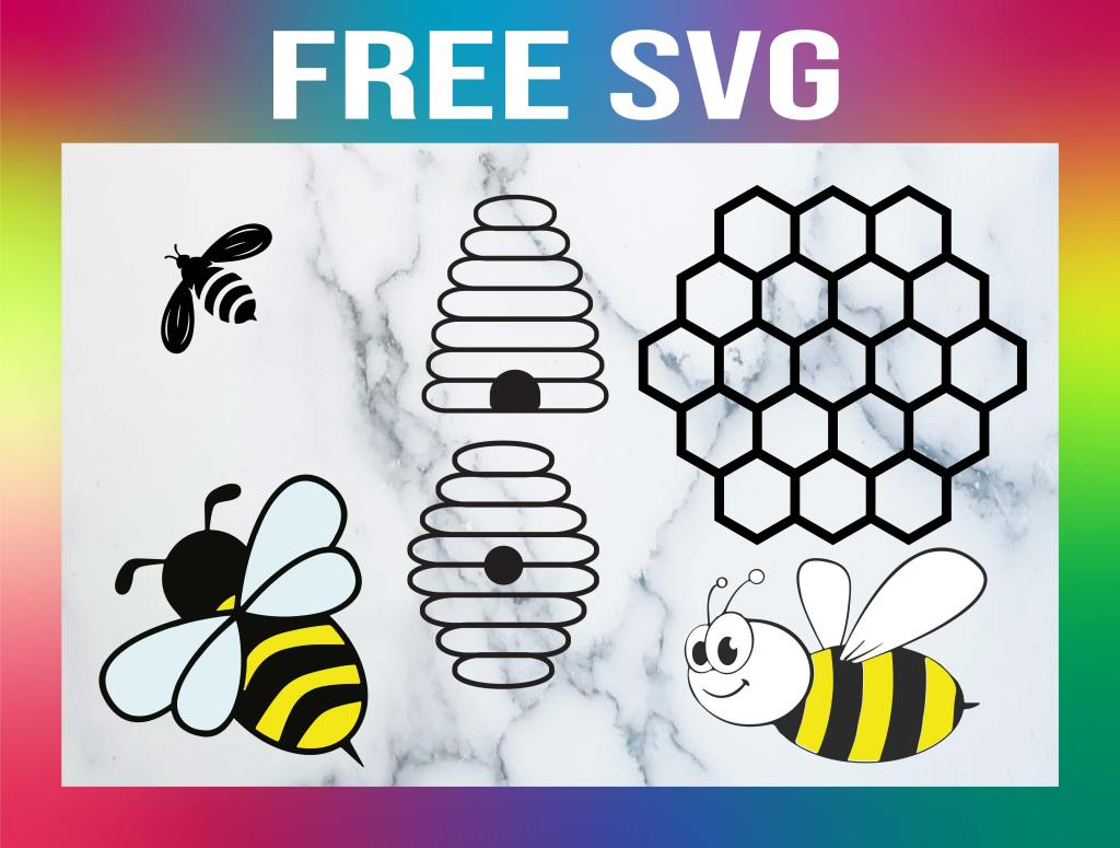 Free Beehive SVG
