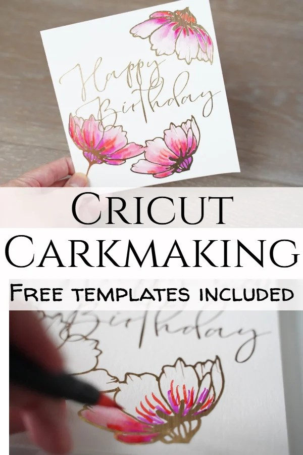cricut cardmaking projects