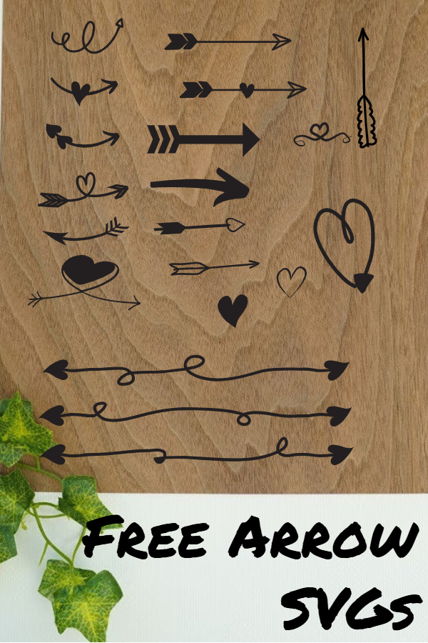 free arrow svg