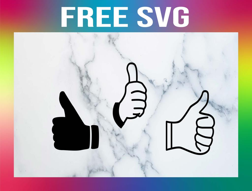 Free Thumbs Up SVG
