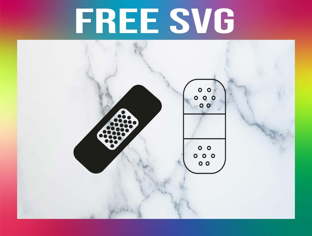 Free Bandaid SVG