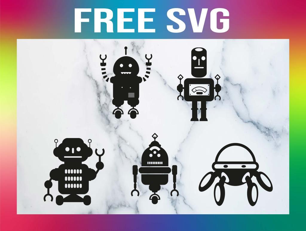 Free Robot SVG