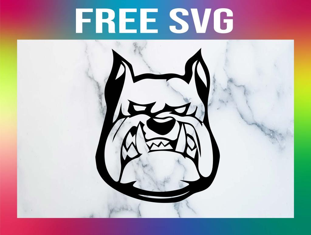 french Bulldog SVG