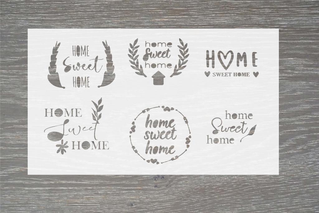 home stencil template