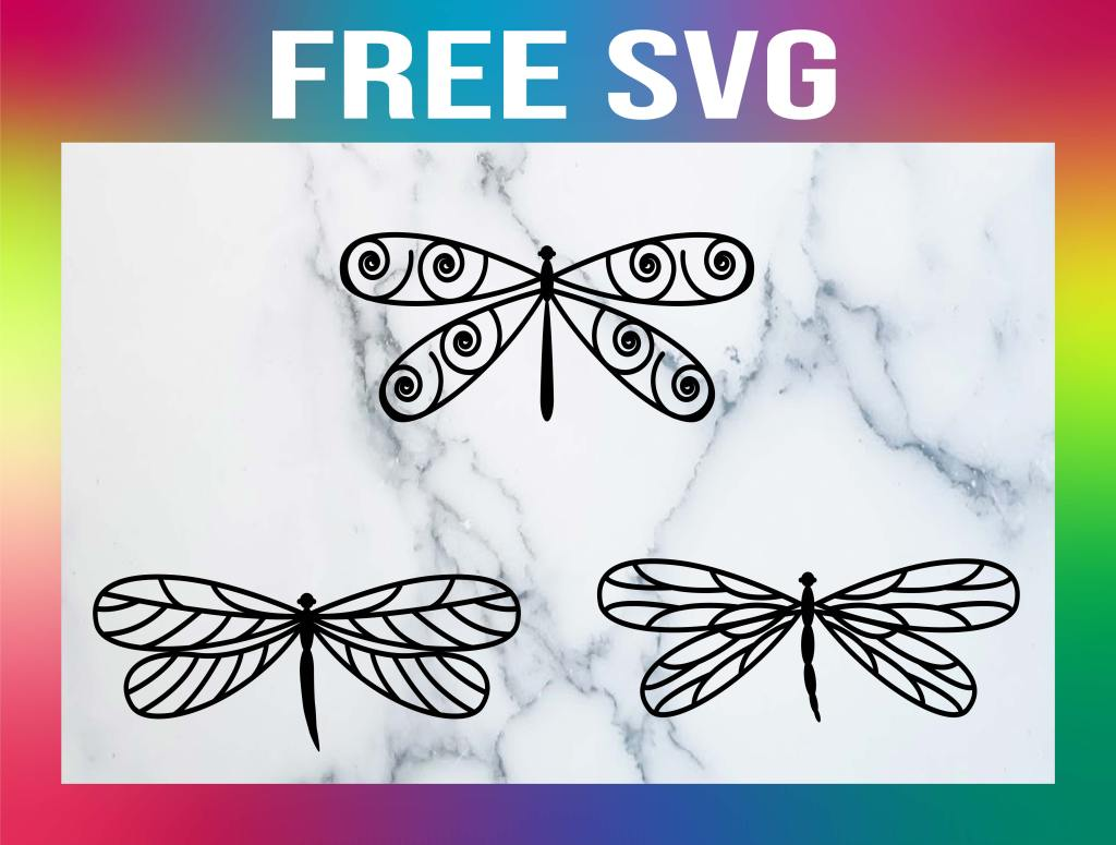 Free Dragonfly SVG