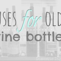 Wine Bottle DIY's