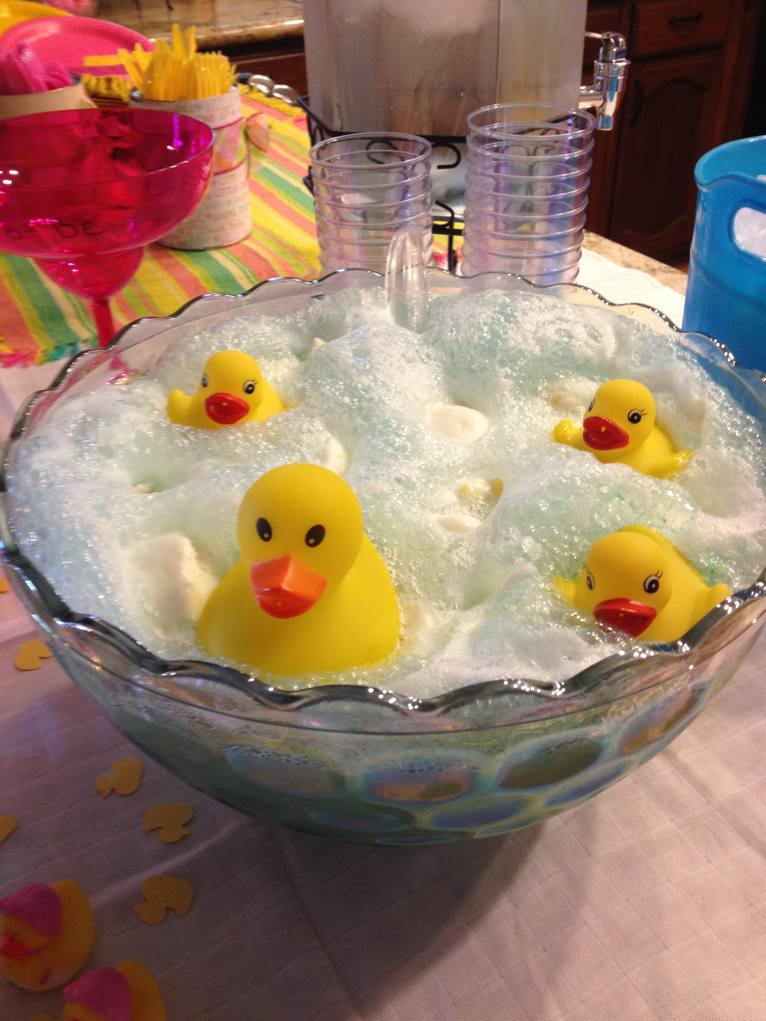 Rubber Ducky Baby Shower for Kerin  domesticityinprogress
