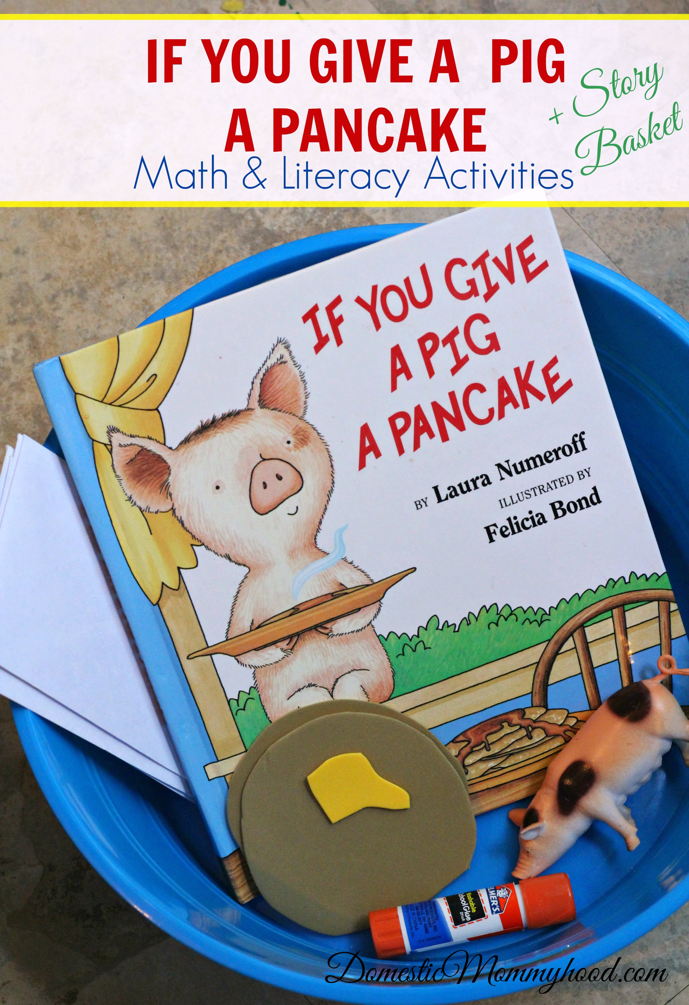 If You Give A Pig A Pancake Math And Literacy Pre K Kids