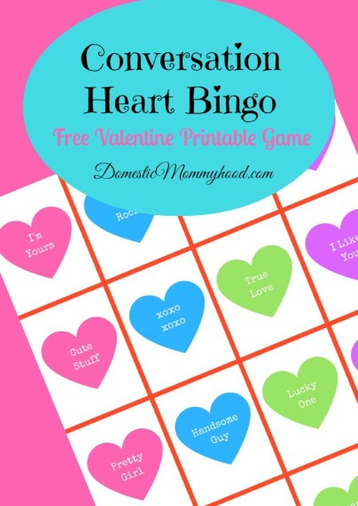 14 Printable Valentine\'s Day Games for Kids -