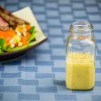 Ginger Dijon Vinaigrette Salad Dressing