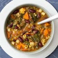 Gluten Free Minestrone Soup Recipe