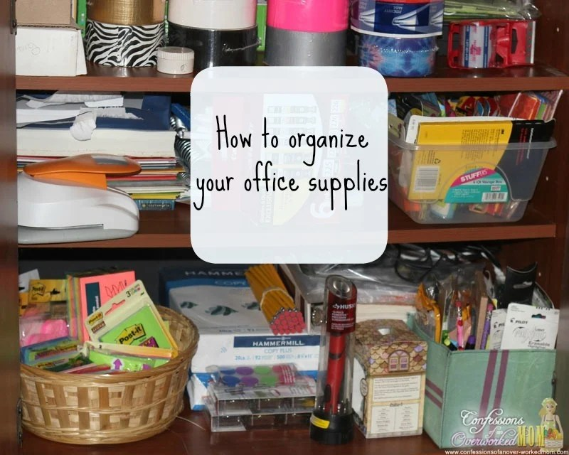 29 Easy Home Organization Ideas & Tips - Mom 4 Real