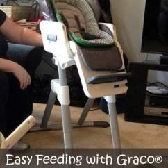 Seat High Chair Outdoor Swivel Rocking Chairs Easy Feeding With Graco Swivi Highchair Domestic Superhero