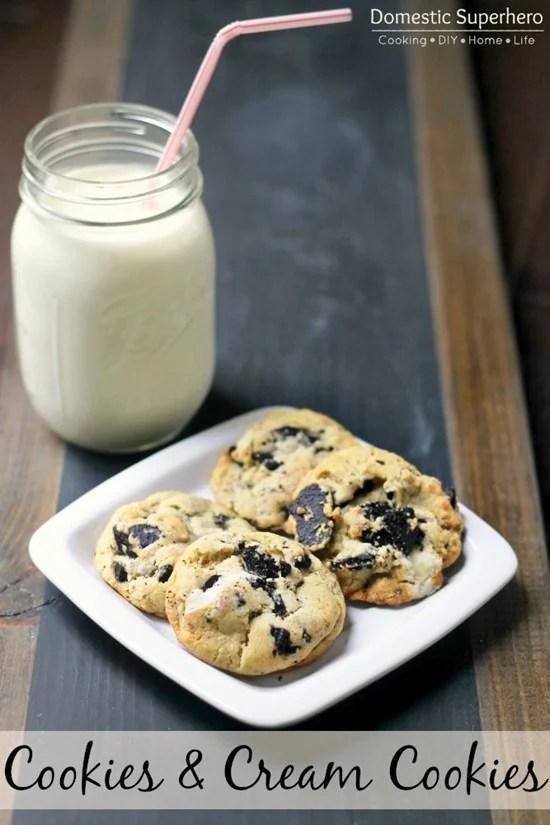 Cookies & Cream Cookies 1