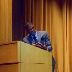 Moderating a panel hosted by the Chicago Urban League and the Anti-Defamation League following a screening of the documentary Rosenwald