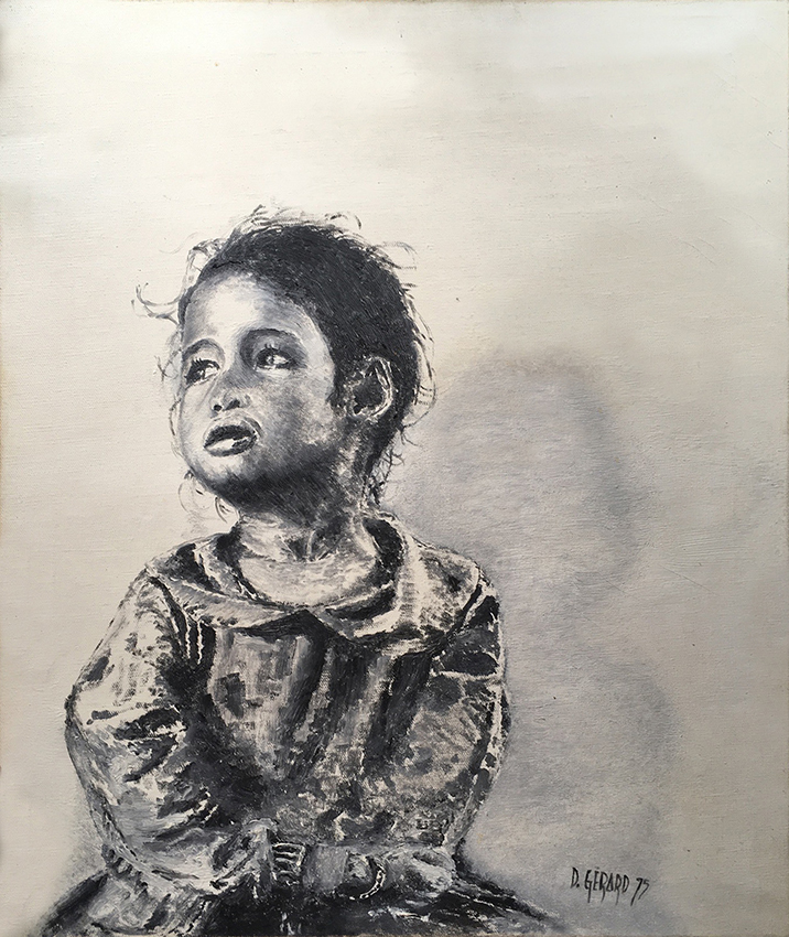 Enfant 01 oil 1975