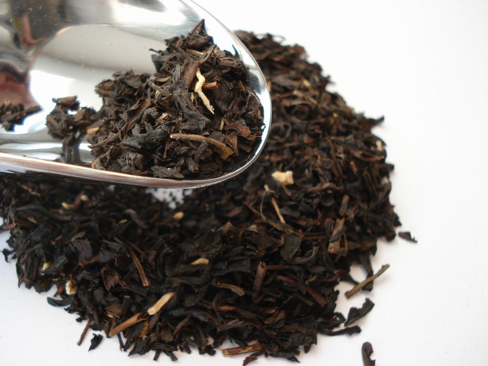Herbata czarna żeńszeniowa