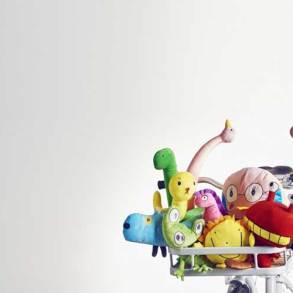 zabawki pluszowe z ikei, kolekcja pluszaków