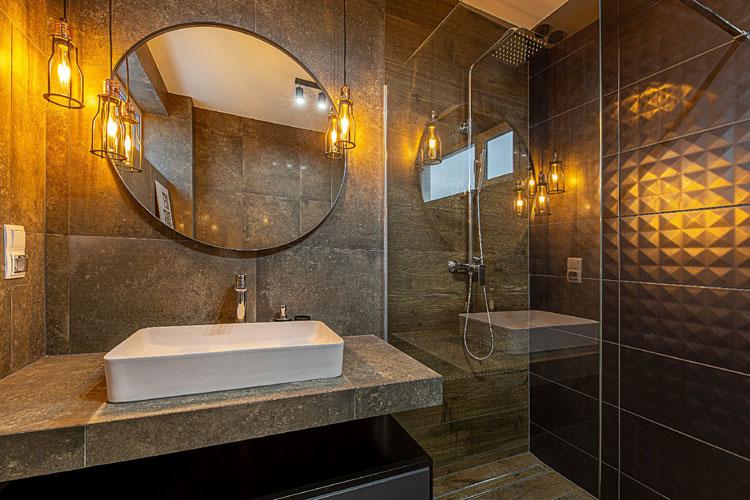 Łazienka w stylu loft