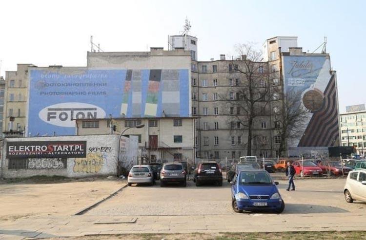 Mural warszawski Foton
