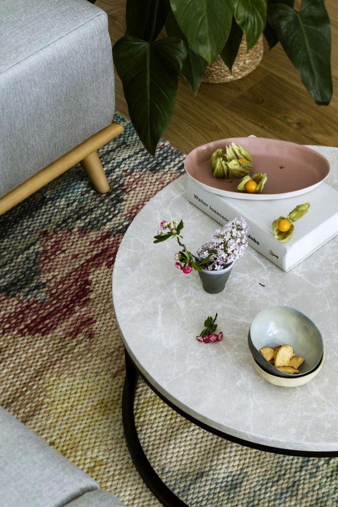 Ręcznie tkany dywan Eleevar studio