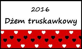 truskawkowy dzem 2016