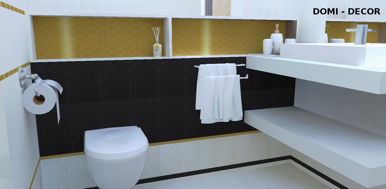 łazienka Płytki łazienkowe Paradyż Zonda Domi Decor