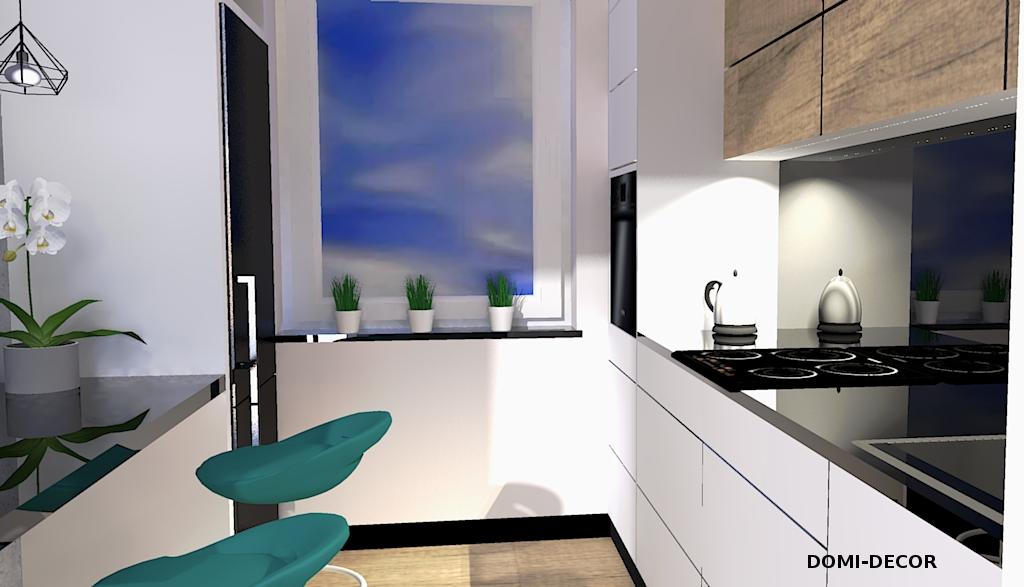 Kuchnia W Bloku Wersja 1 Domi Decor
