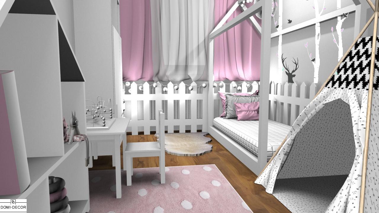 Przemiana Sypialni Rodziców W Pokój Dziewczynki Domi Decor