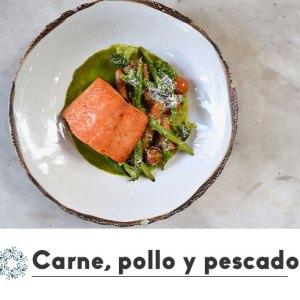 Carne, pollo y pescado