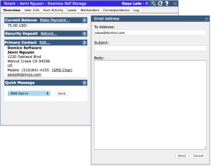 DomicoCloud - Email Screen