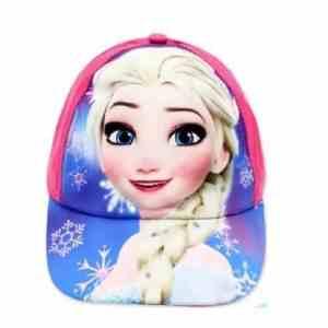 Casquette rose La reine des neiges