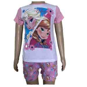 Pyjama court La reine des neiges