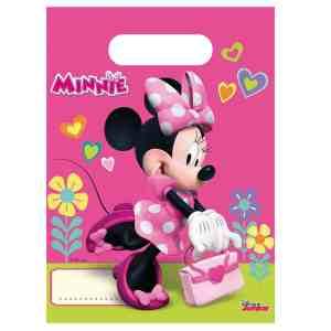 6 sacs à bonbons Minnie