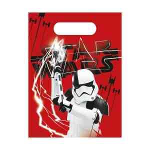 6 sacs à bonbons Star Wars